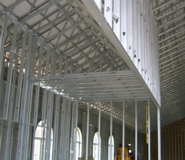 Interior Metal Stud Framing